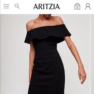 Aritzia - Babaton Emry Dress, Black, Size 0